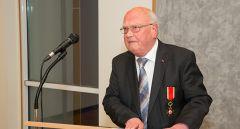 K. Kottenberg bei seiner Dankesrede zur Verleihung des Gregoriusordens